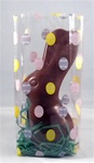 "3.5""x2.25""x8.25"" Easter Eggs Printed Cello Bags"