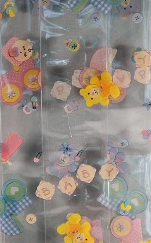 4 X 2 5 X 9 5 Baby Printed Cello Bags Qty 100 Cs