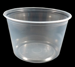 16oz Clear Deli Container PK16SC
